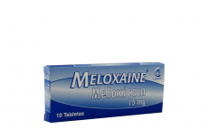 Meloxaine 15 mg Caja Con 10 Tabletas Rx