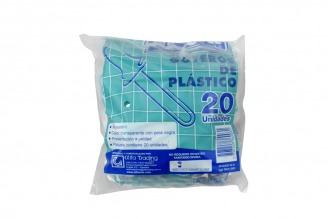 Gotero Plástico Bolsa Con 20 Unidades