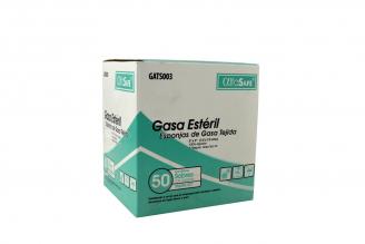 """Gasa Tejida Estéril 3"""" x 3"""" Caja Con 100 Unidades"""