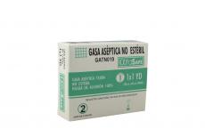 Alfa Safe Gasa Aséptica No Estéril Caja Con 1 Unidad Con 1 x  1 Yardas