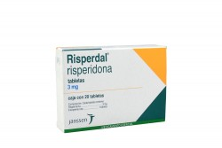 Risperdal 3 mg Caja Con 20 Tabletas Rx4