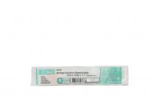 Jeringa Insulina Desechable 1 mL X 31 G 1/3 Bolsa Con 1 Unidad