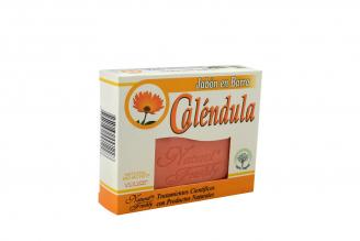 Jabón Caléndula Caja Con Barra Con 90 g