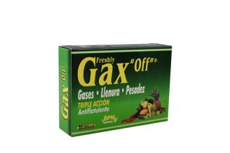 Gax Off Doble Acción Caja Con 30 Cápsulas