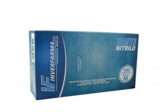 Guante Nitrillo Color Azul Talla M (7½) Caja Con 100 Unidades
