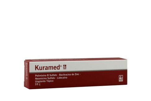 Kura Med Ungüento 10 g Caja Con Tubo RX