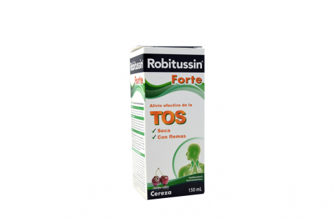Robitussin Forte Jarabe Frasco x 150 mL