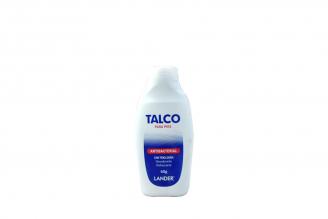 Talco Para Pies Antibacterial Lander Frasco Con 60 g
