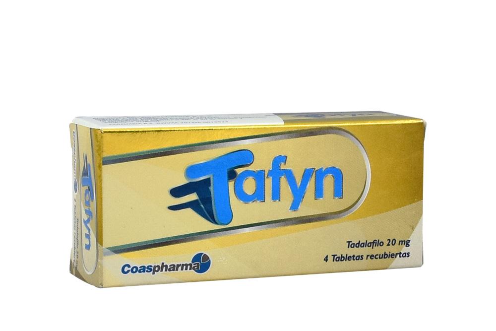 Tafyn 20 mg Caja Con 4 Tabletas Recubiertas Rx
