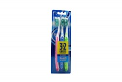 Cepillo Dental Oral B Complete Empaque Con 3 Unidades