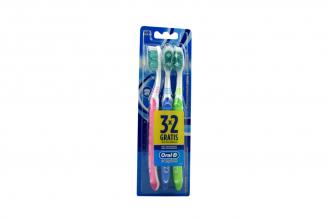 Cepillo Dental Oral B Complete Empaque Con 3 Unidades