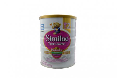Similac Total Confort 2 Tarro Con 820 g