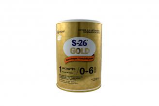 S-26 Gold 1 Lactantes De 0 a 6 Meses Tarro Con 900 g