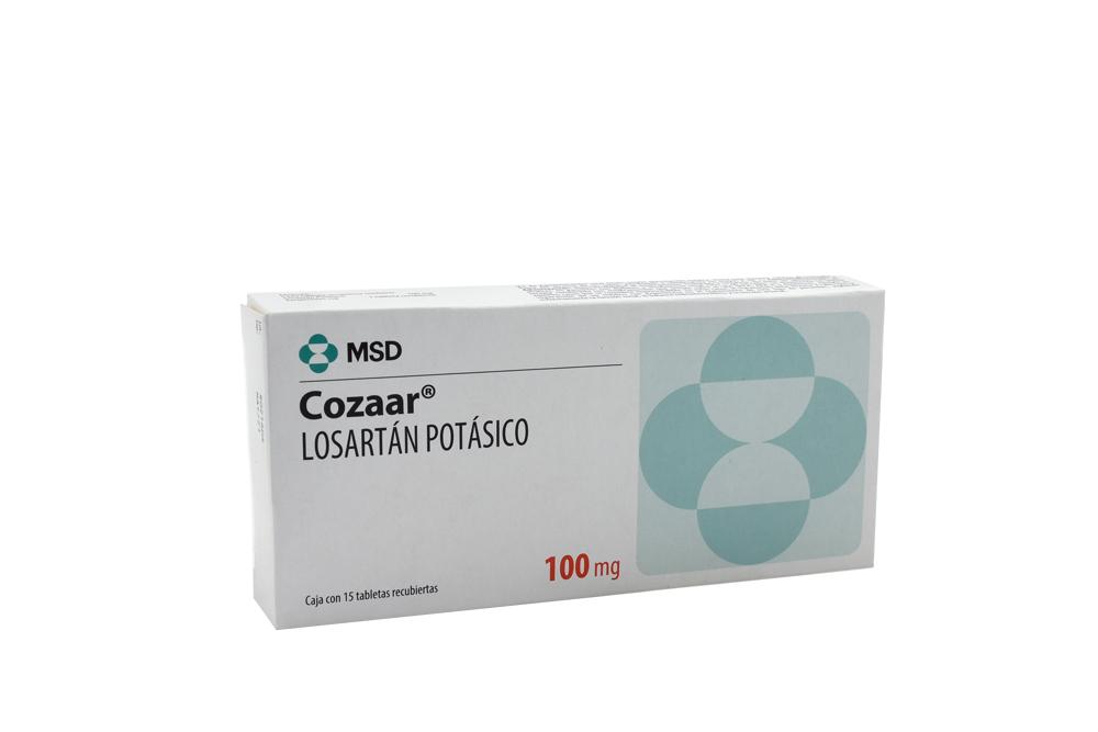 Cozaar 100 mg Caja Con 15 Tabletas Rx Rx4