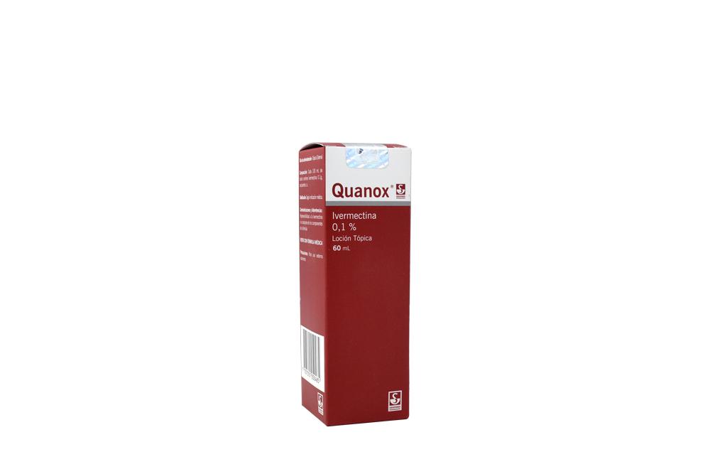 Quanox 0.1% Loción Tópica Frasco x 60 mL Rx