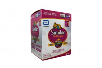 Similac 1 Total Comfort Lactantes De 0 a 12 Meses Caja Con 4 Bolsas Con 350 g C/U