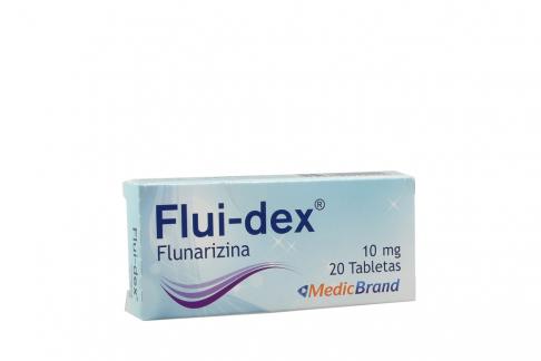 Flui-Dex 10 mg Caja Con 20 Tabletas Rx