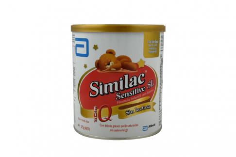 Similac Sensitive SL De 0 a 12 Meses Tarro Con 375 g