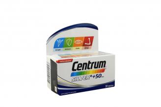 Centrum Silver Suplemento Dietario +50 Años Caja Con 30 Tabletas