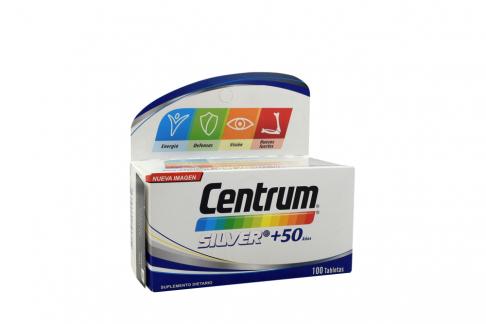 Centrum Silver Caja Con 100 Tabletas