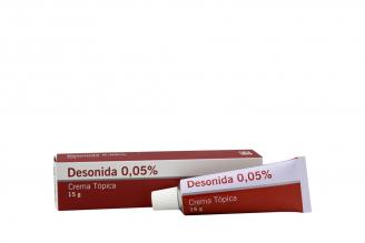 Desonida 0,05% 15 g Rx2
