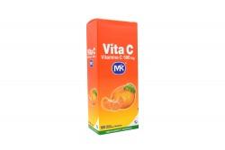 Vita C 500 mg Caja Con 100 Tabletas Masticables – Sabor Mandarina