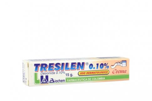 Tresilen Crema 0.10 % Caja Con Tubo 15 g Rx