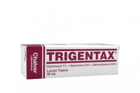 Trigentax Frasco x 50 mL Solución Tópica Rx