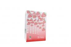 Solhidrex 28.4 g Sales De Rehidratación Caja Con 30 Sobres Sabor Fresa Rx