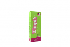Repelente Zimpik Caja Con Spray Con 110 mL