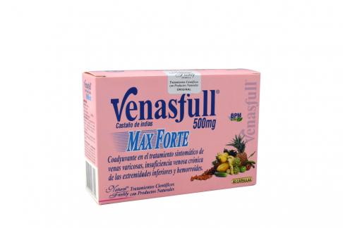 Venasfull Max Forte caja x 60 Cápsulas