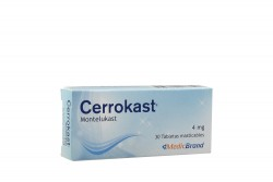 Cerrokast 4 mg Caja Con 30 Tabletas Masticables Rx4