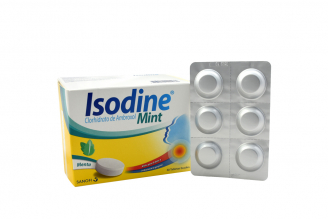 Isodine Mint Menta Caja Con 60 Tabletas
