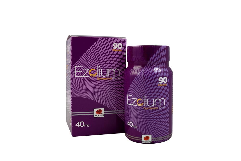 Ezolium 40 mg Caja Con 90 Cápsulas Duras Rx
