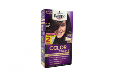 Palette Intensive Creme Color Tinte Cabello N° 4-0 Castaño Medio Estuche