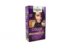 Palette Color Creme Tinte Cabello Nº 4-89 Borgoña Intenso Estuche