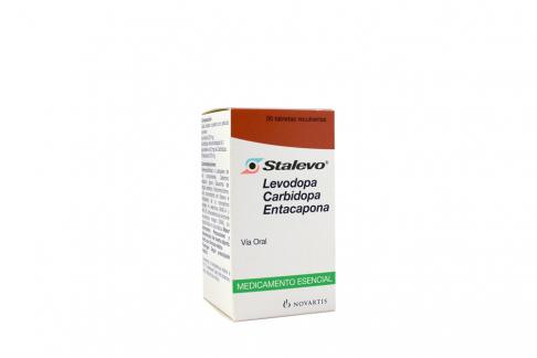 Stalevo 200 / 50 / 200 mg Caja Con Frasco Con 30 Comprimidos  Rx4