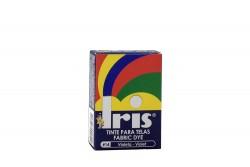 Iris Tinte Para Telas Caja Con Bolsa Con 9 g – Tono Número 14 Violeta