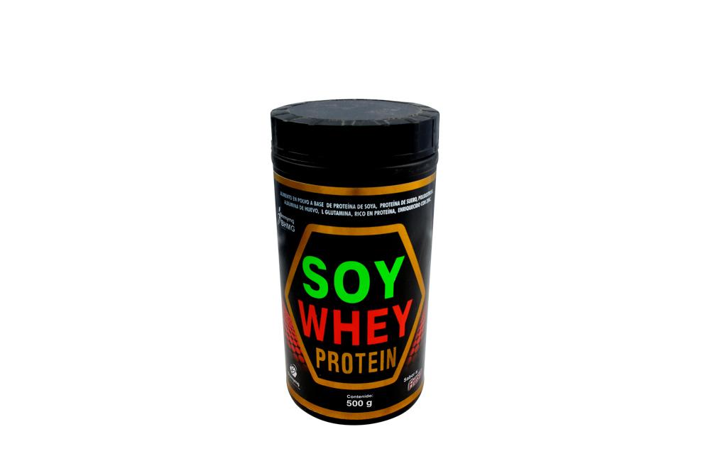Soy Whey Protein Tarro Con 500 g