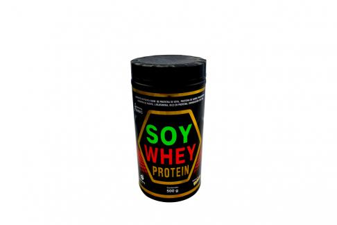 Soy Whey Protein Vainilla Tarro Con 500 g