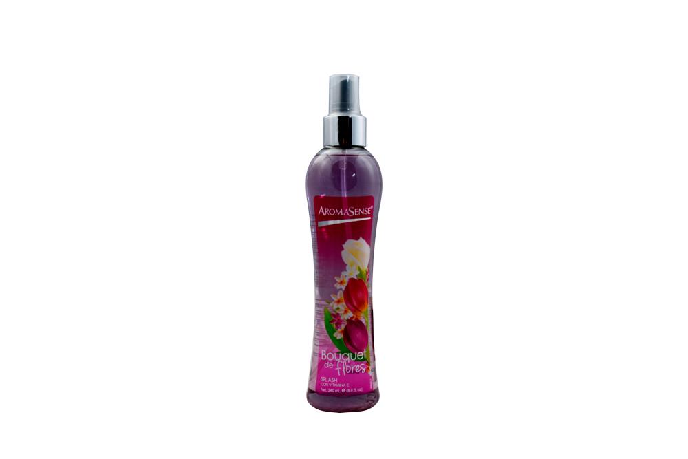 Splash AromaSense Frasco Con 240 mL - Aroma Bouquet De Flores