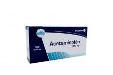 Acetaminofen 500 mg Caja Con 300 Tabletas