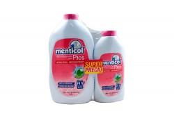 Talco Desodorante Menticol Frasco Con 300 g – Gratis Frasco Con 120 g