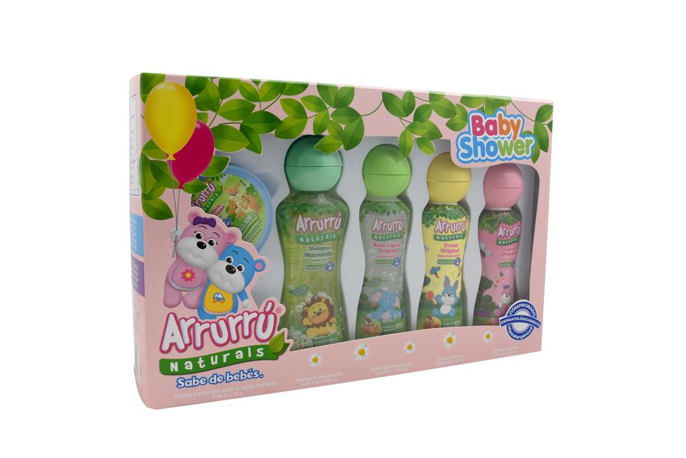 Arrurrú Naturals Estuche Baby Shower Caja Con 5 Unidades