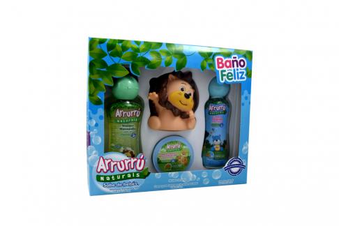 Arrurru Naturals Estuche Baño Feliz Azul