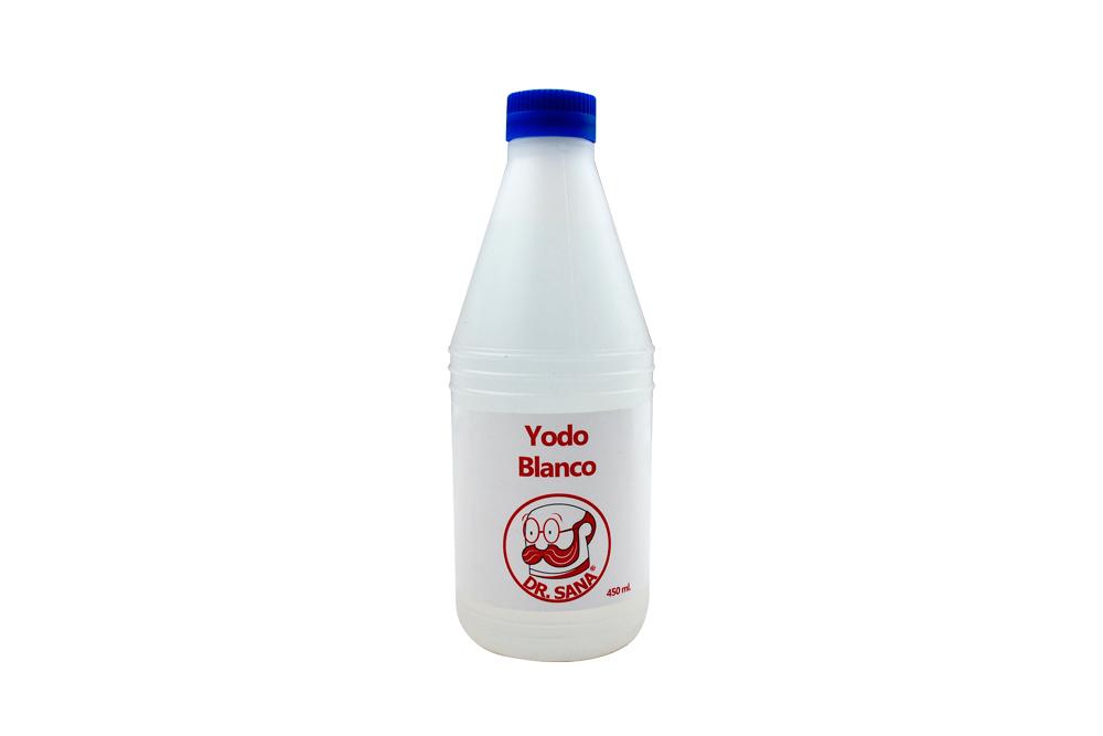 Yodo Blanco Frasco Con 450 mL