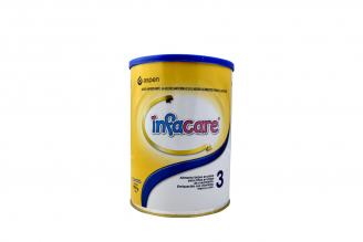 Infacare 3 Alimento Lácteo En Polvo Para Niños En Etapa De Crecimiento Tarro Con 900 g