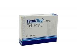 FradiTec 500 mg Caja Con 24 Cápsulas Rx