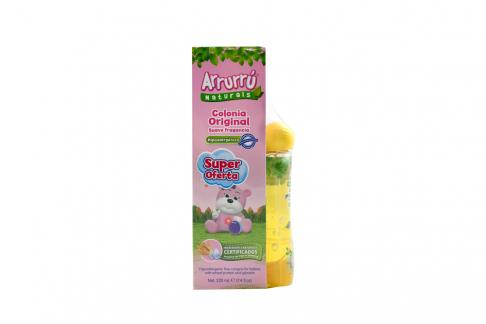 Colonia Arrurrú Naturals Rosa 220 mL + Shampoo Arrurrú Naturals pH Equilibrado 60 mL