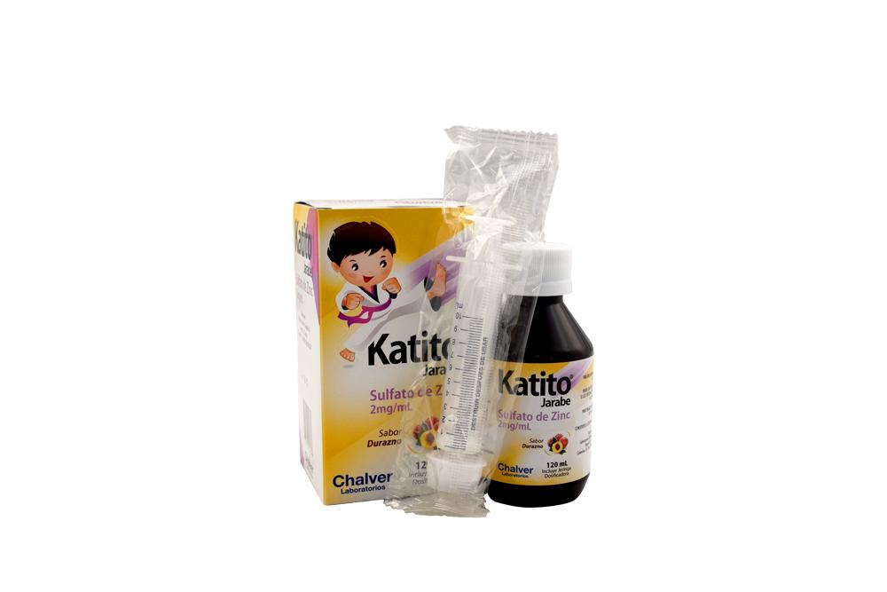 Katito Jarabe 2 mg / mL Caja Con Frasco Con 120 mL